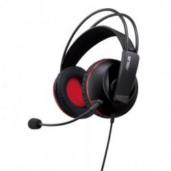 ASUS Cerberus conjunto de auscultadores e microfone Fita de cabeça Binaural Preto, Vermelho 90YH0061-B1UA00