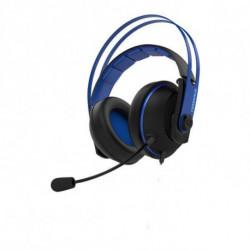 ASUS Cerberus V2 conjunto de auscultadores e microfone Fita de cabeça Binaural Preto, Azul 90YH016B-B1UA00