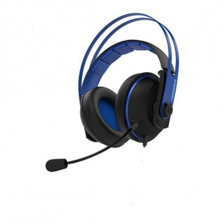 ASUS Cerberus V2 auricular con micrófono Diadema Binaural Negro, Azul 90YH016B-B1UA00