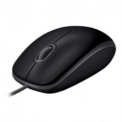 Logitech B110 mouse USB Optical 1000 DPI Ambidextrous 910-005508
