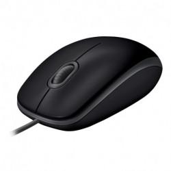 Logitech B110 rato USB Óptico 1000 DPI Ambidestro 910-005508