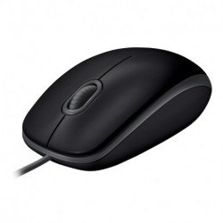 Logitech B110 mouse USB Optical 1000 DPI Ambidextrous 910-005508