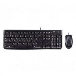 Logitech MK120 teclado USB QWERTY Italiano Negro 920-002543