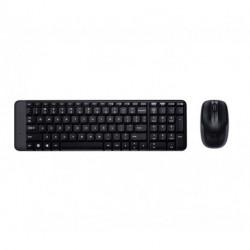 Logitech MK220 Tastatur RF Wireless QWERTY Italienisch Schwarz 920-003721