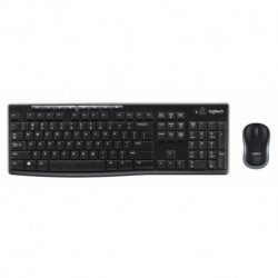Logitech MK270 teclado RF Wireless QWERTY Italiano Preto 920-004512
