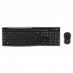Logitech MK270 tastiera RF Wireless QWERTY Italiano Nero 920-004512