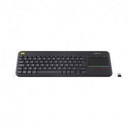 Logitech K400 Plus teclado RF Wireless QWERTY Italiano Preto 920-007135