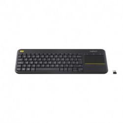 Logitech K400 Plus teclado RF inalámbrico QWERTY Italiano Negro 920-007135