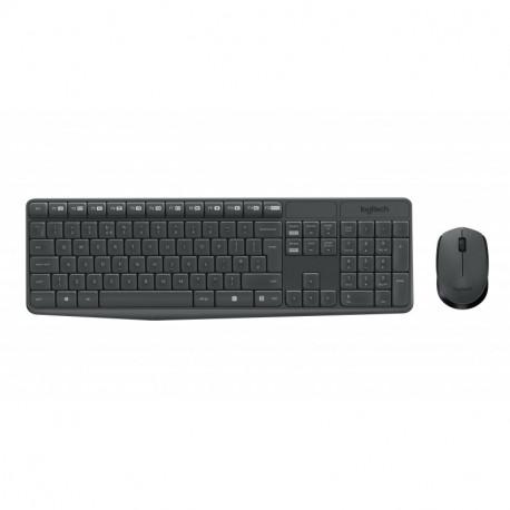 Logitech MK235 teclado RF Wireless QWERTY Italiano Preto 920-007913