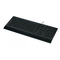 Logitech K280E clavier USB QWERTY US International Noir 920-008159