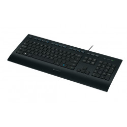Logitech K280E Tastatur USB QWERTY US International Schwarz 920-008159
