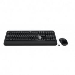 Logitech 920-008802 teclado QWERTY Italiano Preto