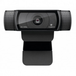 Logitech C920 webcam 15 MP 1920 x 1080 pixels USB 2.0 Preto 960-001055