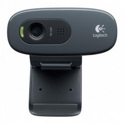 Logitech C270 cámara web 3 MP 1280 x 720 Pixeles USB 2.0 Negro 960-001063
