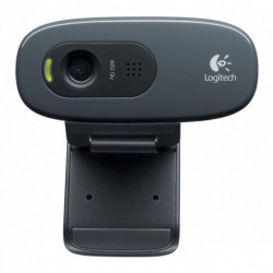 Logitech C270 Webcam 3 MP 1280 x 720 Pixel USB 2.0 Schwarz 960-001063