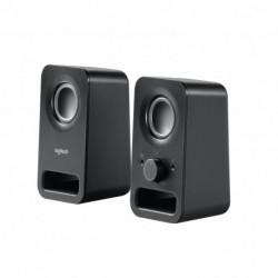 Logitech Z150 loudspeaker 6 W Black Wired 3.5 mm 980-000814