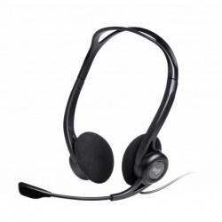 Logitech 960 USB auricolare Padiglione auricolare Stereofonico Nero 981-000100