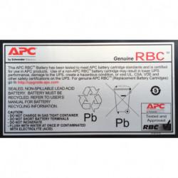 APC APCRBC110 Acido piombo (VRLA)
