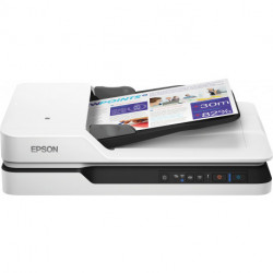 Epson WorkForce DS-1660W 600 x 600 DPI Flatbed scanner Black,White A4 B11B244401