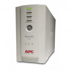 APC Back-UPS sistema de alimentación ininterrumpida (UPS) En espera (Fuera de línea) o Standby (Offline) 350 VA 210 W 4 BK350EI