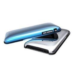 Konnet Shine Handy-Schutzhülle Cover Blau, Silber KN-5016