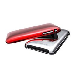Konnet Shine mobile phone case Cover Red,Silver KN-5017