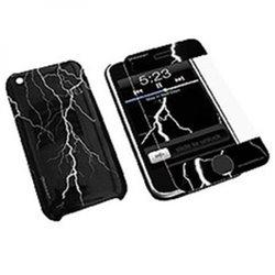 Konnet HardJAC Graffito mobile phone case Cover Black KN-8259