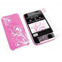 Konnet HardJAC Graffito Handy-Schutzhülle Cover Pink KN-8260