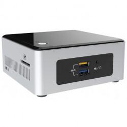 Intel NUC BOXNUC5CPYH PC/Workstation Barebone N3050 1,6 GHz UCFF Schwarz, Silber BGA 1170