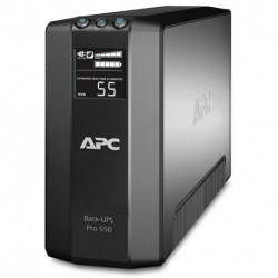 APC Back-UPS Pro uninterruptible power supply (UPS) Line-Interactive 550 VA 330 W 6 AC outlet(s) BR550GI