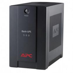 APC Back-UPS alimentation d'énergie non interruptible Interactivité de ligne 500 VA 300 W 3 sortie(s) CA BX500CI
