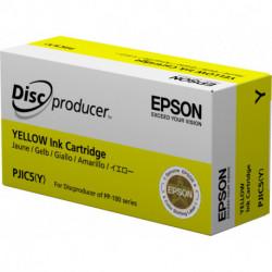 Epson Discproducer Ink Cartridge, Yellow (MOQ10) C13S020451