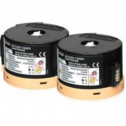 Epson AL-M200/MX200 Conjunto duplo de Toner de Retorno 2 x 2,5k C13S050711