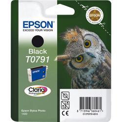 Epson Owl Singlepack Black T0791 Claria Photographic Ink C13T07914010
