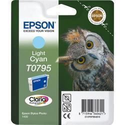 Epson Owl Cartucho T0795 cian claro C13T07954010
