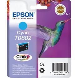 Epson Hummingbird Cartucho T0802 cian C13T08024011