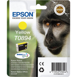 Epson Monkey Singlepack Yellow T0894 DURABrite Ultra Ink C13T08944011