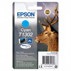 Epson Stag Singlepack Cyan T1302 DURABrite Ultra Ink C13T13024012
