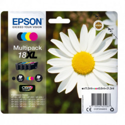 Epson Daisy Multipack 4-colours 18XL Claria Home Ink C13T18164012