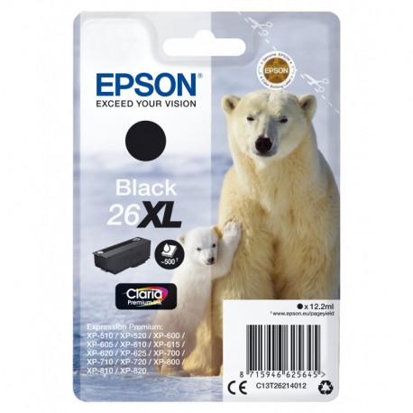 Epson Cartouche Ours PolaireEncre Claria Premium N (XL) C13T26214012