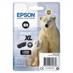 Epson Polar bear Singlepack Photo Black 26XL Claria Premium Ink C13T26314012