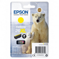 Epson Polar bear Singlepack Yellow 26XL Claria Premium Ink C13T26344012