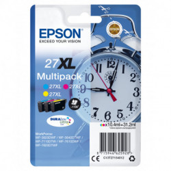 Epson Alarm clock Multipack 3-colour 27XL DURABrite Ultra Ink C13T27154012