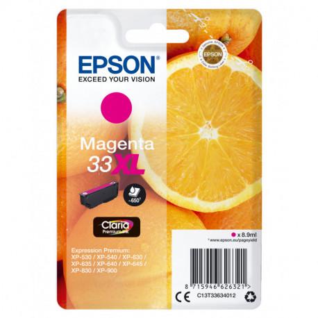 Epson Oranges Cartuccia Magenta T33XL Claria Premium C13T33634012