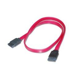 ASSMANN Electronic AK-400100-005-R câble SATA 0,5 m SATA 7-pin Noir, Rouge LP7037