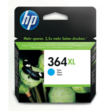 HP 364XL Originale Ciano CB323EE