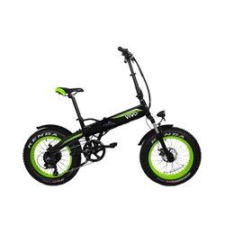 """Vivobike VF21 Black,Green Aluminium 50.8 cm (20"""") Lithium-Ion (Li-Ion) 26 kg M-VF21G"""