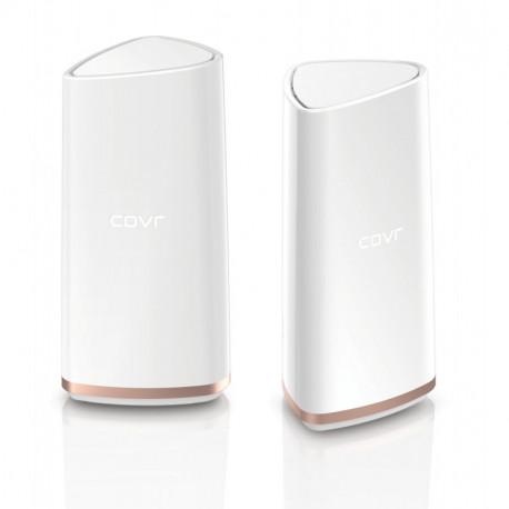 D-Link AC2202 punto de acceso WLAN 1000 Mbit/s Oro, Blanco COVR-2202