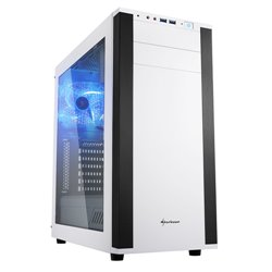 Sharkoon M25-W Midi-Tower Blanco