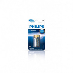 Philips Minicells Batteria CR123A/01B